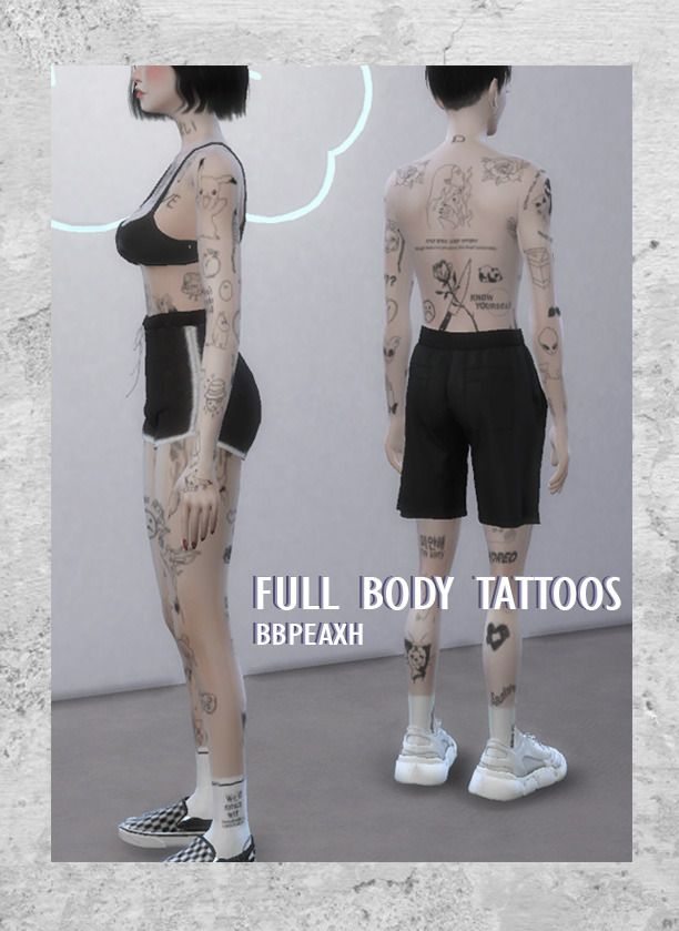 Full body tattoos Hi this is my first time sharing cc, I hope you…